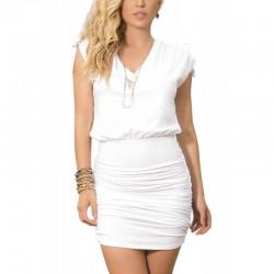 Dress white 4917