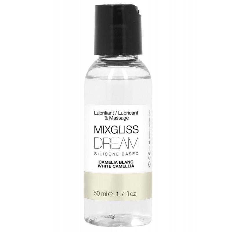 MIXGLISS SILICONE DREAM - CAMELIA BLANC 50 ML - les nuances du désir
