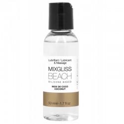 MIXGLISS SILICONE BEACH - NOIX DE COCO 50 ML