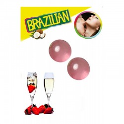 Brazilian balls strawberry champagne 3385-2
