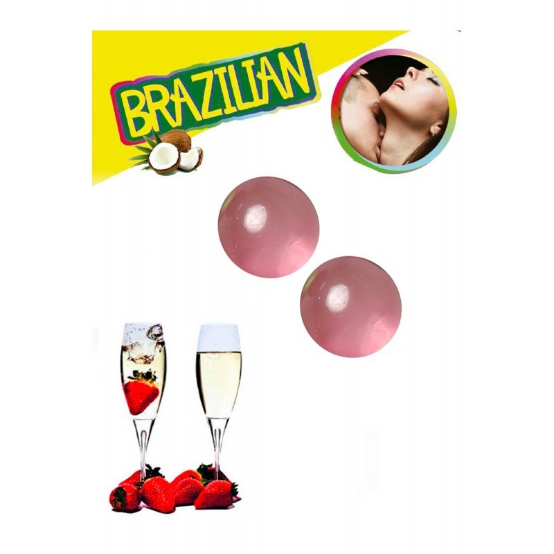 Brazilian balls strawberry champagne 3385-2