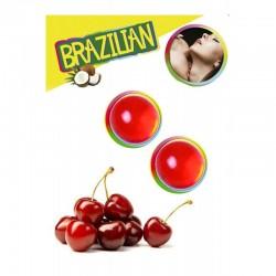 Brazilian balls cherry 3385-6