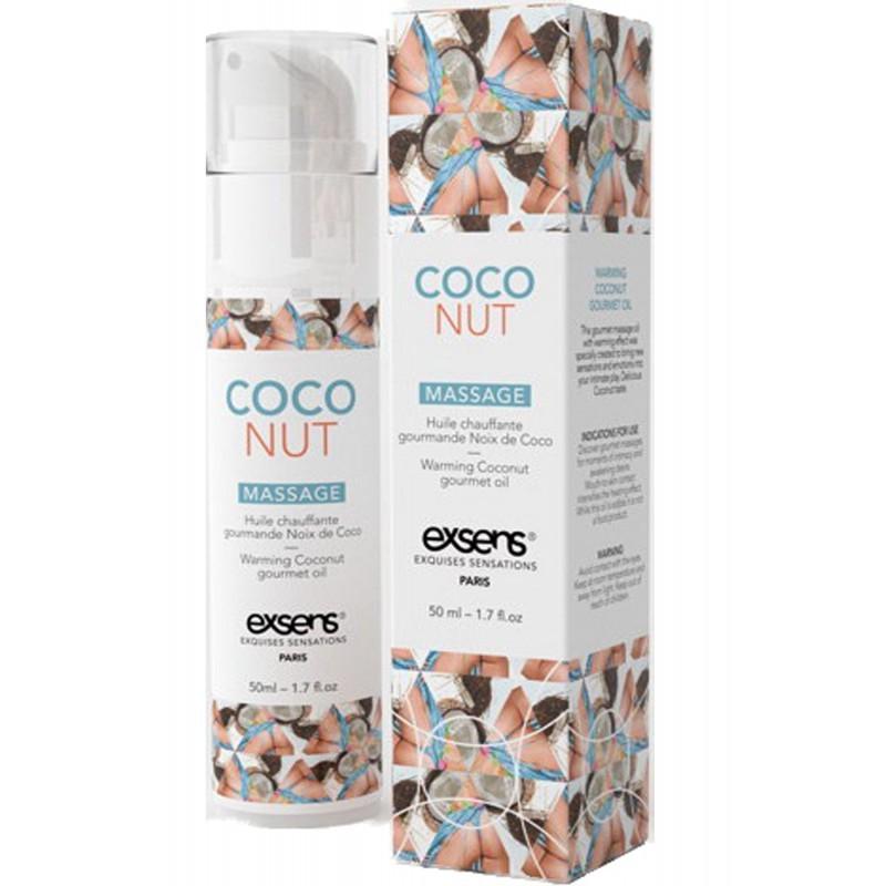 Massage hot gourmant coco 50ml - les nuances du désir