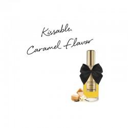 Huile de massage embrassable Chauffante - Caramel Doux - les nuances du désir