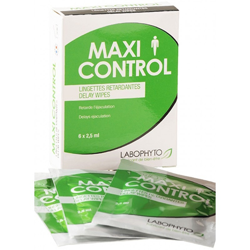 Maxicontrol 6 lingettes retardantes