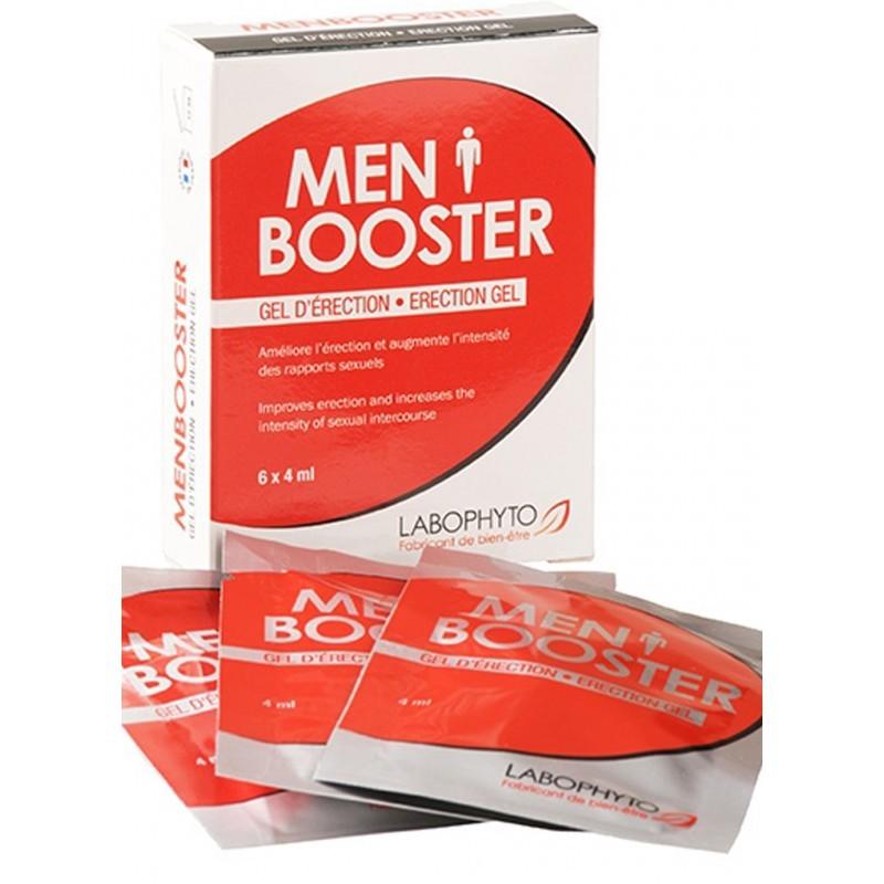 Menbooster gel d'érection 6 dosettes - les nuances du désir