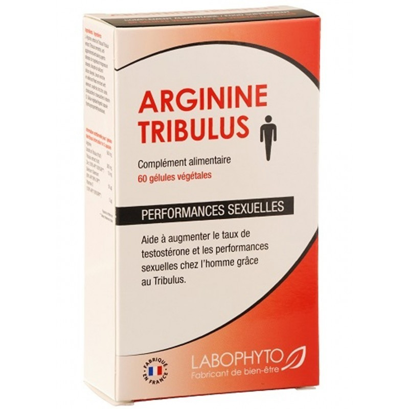 Arginine Tribulus 60 gélules