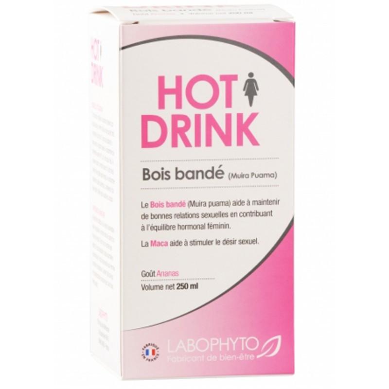 Hotdrink femme bois bandé 250ml