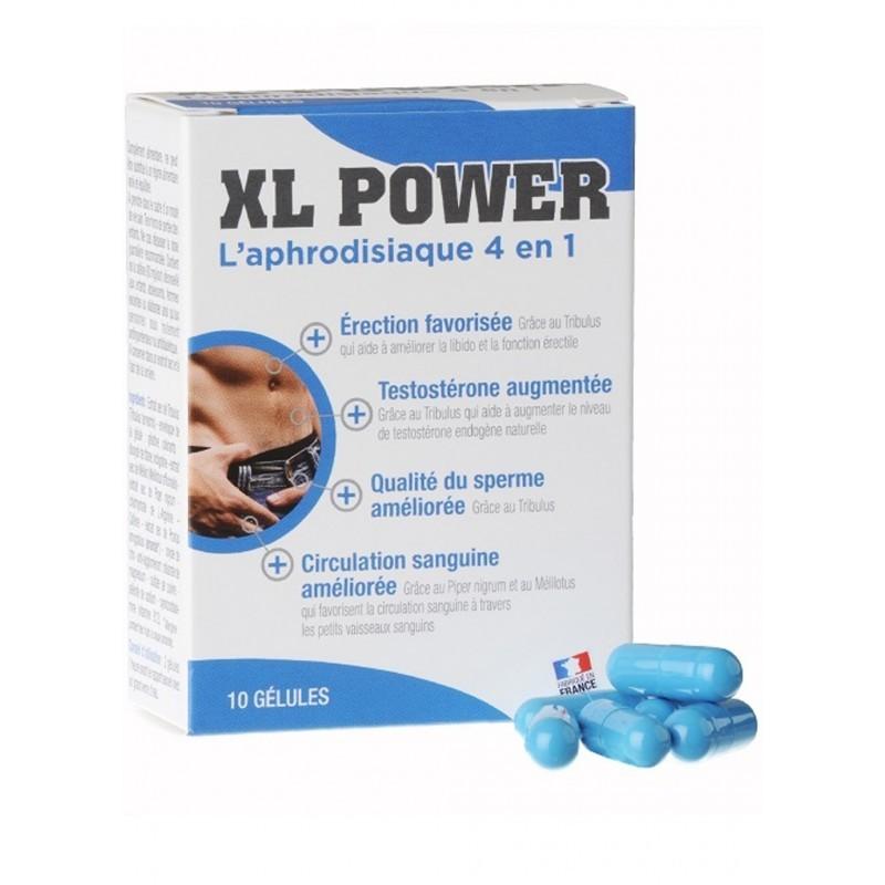 XL power 10 gélules - les nuances du désir