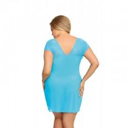 Nuisette Ofeely bleue turquoise  string - les nuances du désir