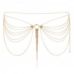 Magnifique - Chaine de Taille dorée métallique - les nuances du désir