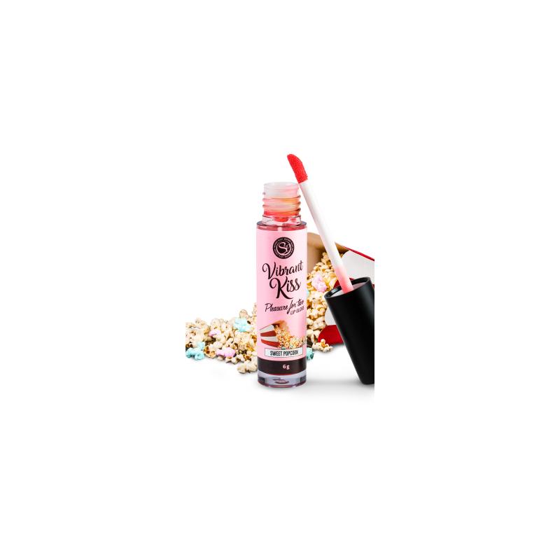 Brillant à lèvres Vibrant saveur Popcorn doux 3658 - les nuances du désir