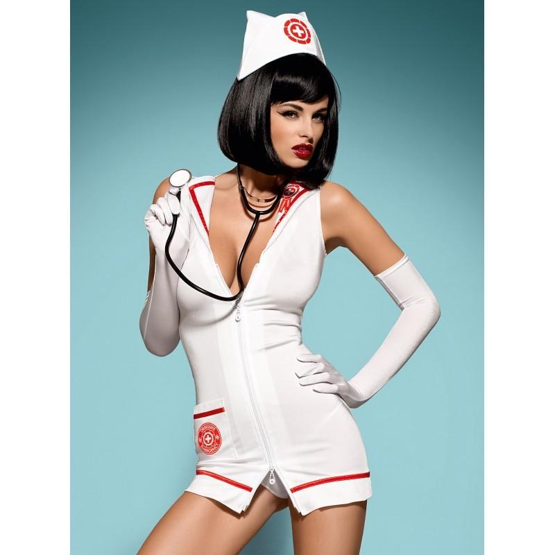 Emergency dress  stéthoscope - les nuances du désir