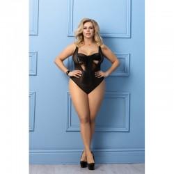 body Iona sensuel - Noir - les nuances du désir