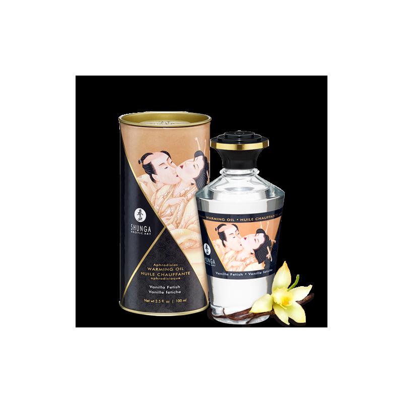 Huile chauffante aphrodisiaque vanille fétish 100ml