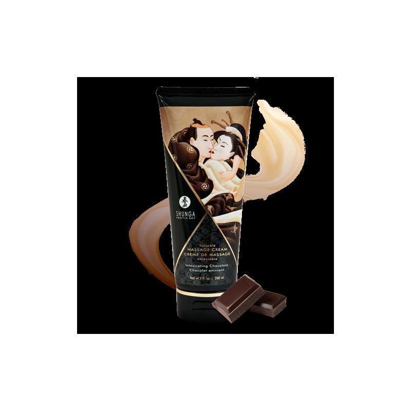 Creme de Massage delectable - Chocolat enivrant - les nuances du désir