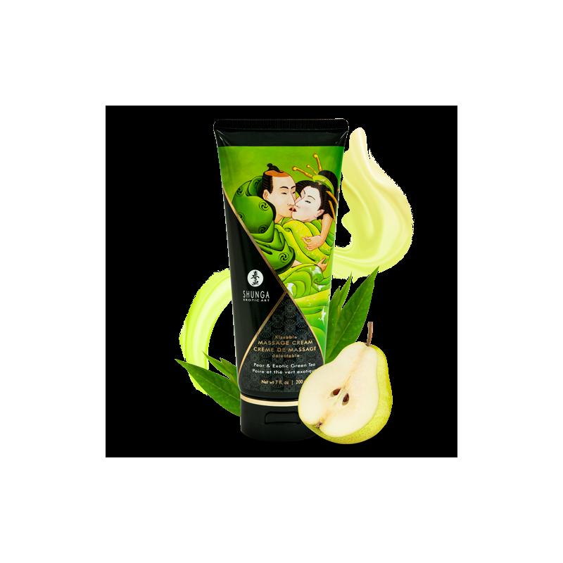 Creme de Massage delectable - Poire  The vert exotique - les nuances du désir