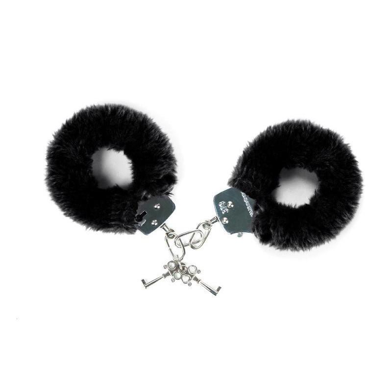 Attach me - Menottes noir - les nuances du désir