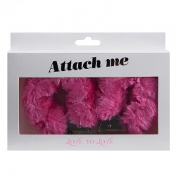 Attach me - Menottes rose - les nuances du désir