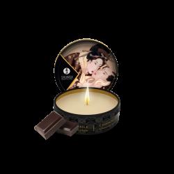 Mini bougie de massage lueur et caresses - Chocolat Enivrant