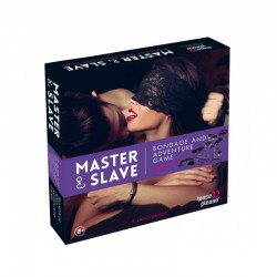 Master  Slave Purple Premium - KIT BDSM