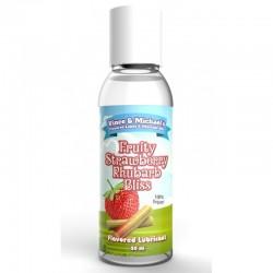 Lubrifiant VM Saveur Fraise Rhubarbe - 50ml