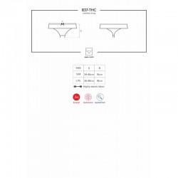 837-THC-1 string ouvert noir