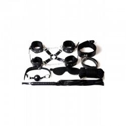 8 pièces black set 6148k - les nuances du désir