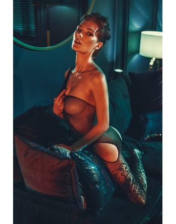 Elodi Bodystocking - Noir - les nuances du désir