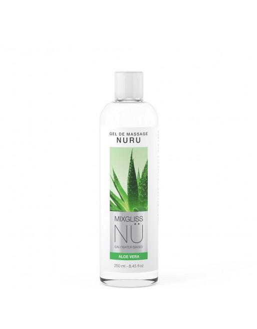 Mixgliss Gel de massage - NU Aloe Vera 250 ml