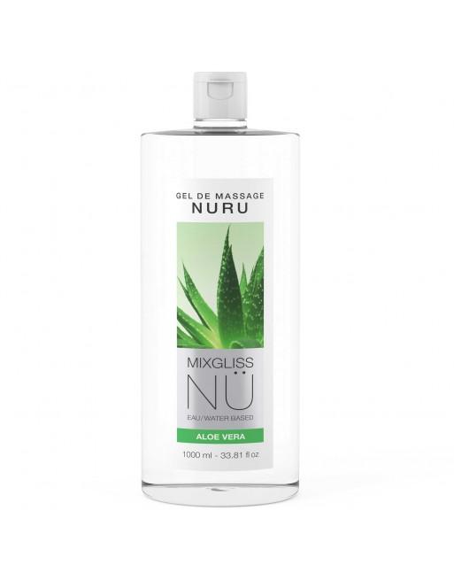 Mixgliss Gel de massage - NU Aloe Vera 1000 ml
