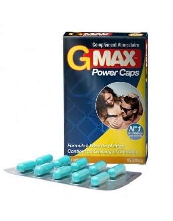 Gmax 10 gélules - les nuances du désir