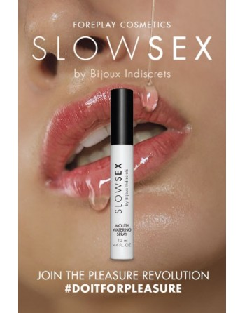Spray activateur de salive - Slowsex - 13ml - les nuances du désir