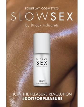 Gel de massage  - Slowsex - 50ml - les nuances du désir