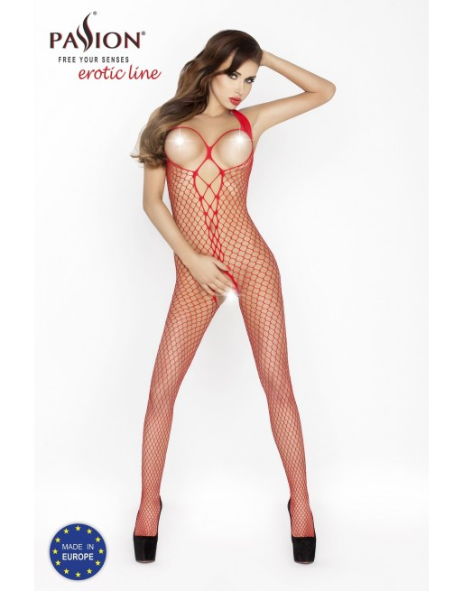 BS014b Bodystocking - Rouge