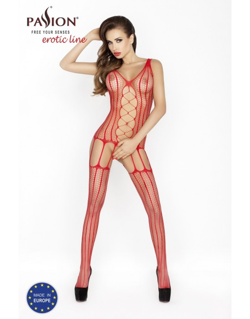 BS013b Bodystocking - Rouge