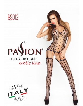 BS013a Bodystocking - Noir