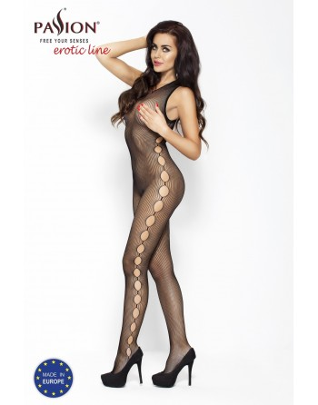 BS003 Bodystocking - Noir
