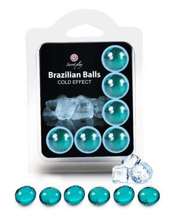 6 Brazilian Balls Cold effect 3613-1