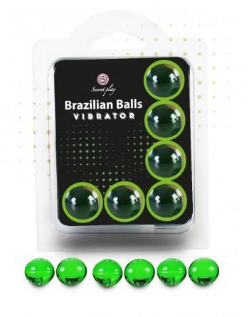 6 Brazilian Balls Vibrator 3591-1 - les nuances du désir