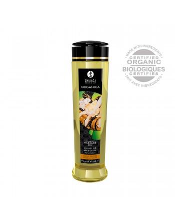 Huile de massage organique - Douceur d'amande - 240 ml - les nuances du désir
