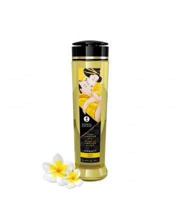 Huile de massage érotique - Serenity - monoi - 240 ml - les nuances du désir