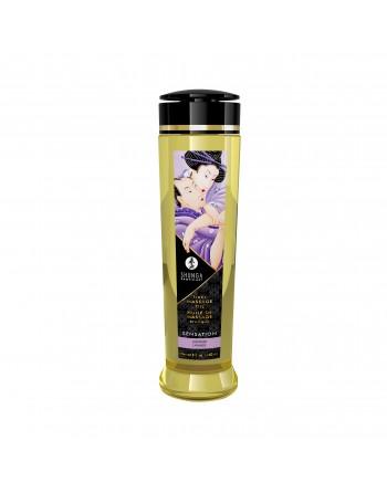 Huile de massage érotique - Sensation - Lavande - 240 ml - les nuances du désir