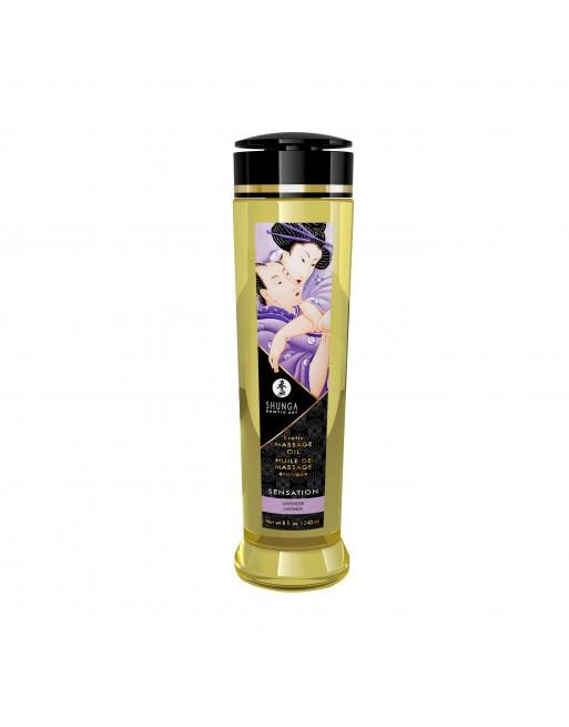 Huile de massage érotique - Sensation - Lavande - 240 ml