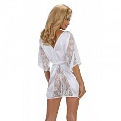 Magnolia dressing gown white