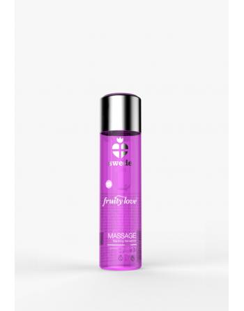 Huile de massage - Framboise Rhubarbe - 60 ml - les nuances du désir