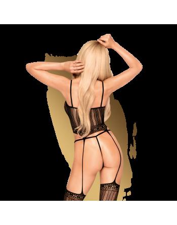 Sex dealer Bodystocking - Noir - les nuances du désir