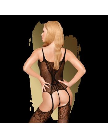 Miss curvy Bodystocking - Noir - les nuances du désir