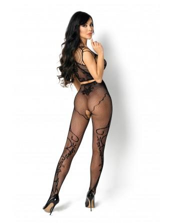 Fernanda Bodystocking - Noir - les nuances du désir