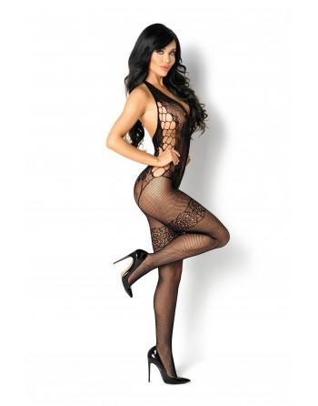 Lupita Bodystocking - Noir - les nuances du désir